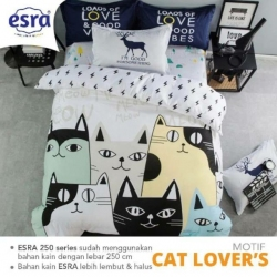 Sprei ESRA Cat Lovers
