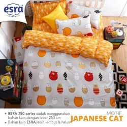 Sprei ESRA Japanese Cat