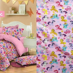 Sprei Star Little-Pony-Magic-pink