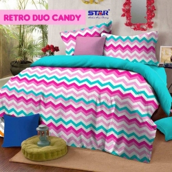 Sprei Star retro-duo-candy