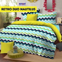 Sprei Star retro-duo-nautilus