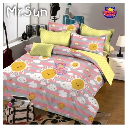 Sprei STAR Mr. Sun Pink
