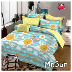 Sprei STAR Mr. Sun Biru