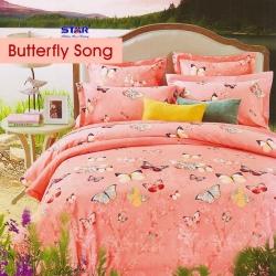 sprei-star-butterfly-song-peach