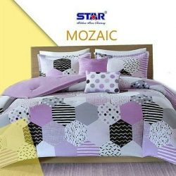 sprei-star-mozaic-ungu