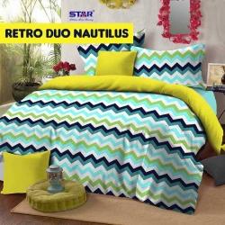 Sprei Star retro-duo-nautilus