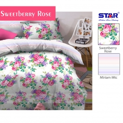 sprei-star-sweetberry-rose