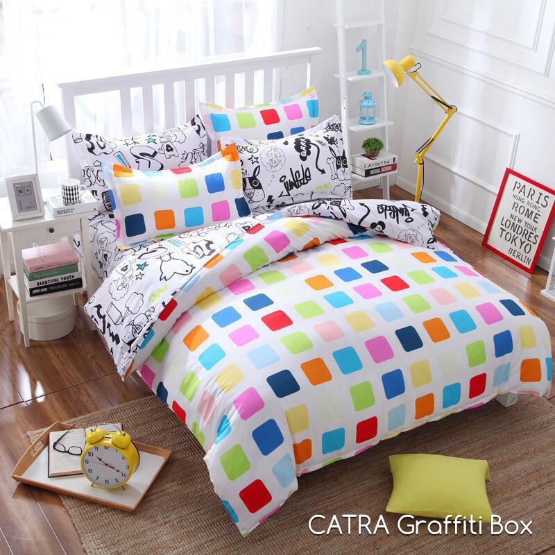 Sprei CATRA / OMAR / SG / NIRWANA Graffiti Box