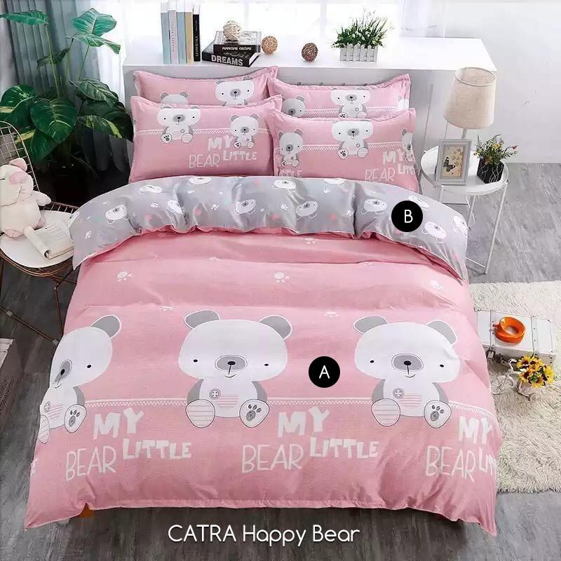 Sprei CATRA / OMAR / SG / NIRWANA Happy Bear