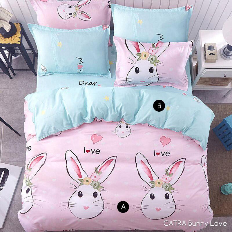 Sprei CATRA Bunny Love